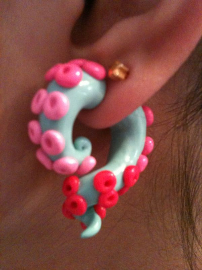 Meanwhile, in my ear lobe…