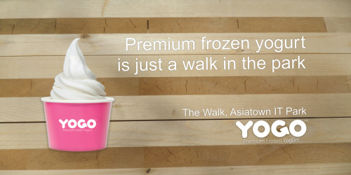 Premium frozen is just a walk in the Park.  Yogo™ is opening soon in Cebu! Stay tuned.