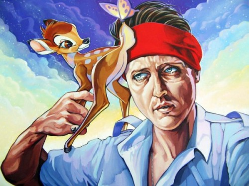 The Deer Hunter by Dave MacDowell