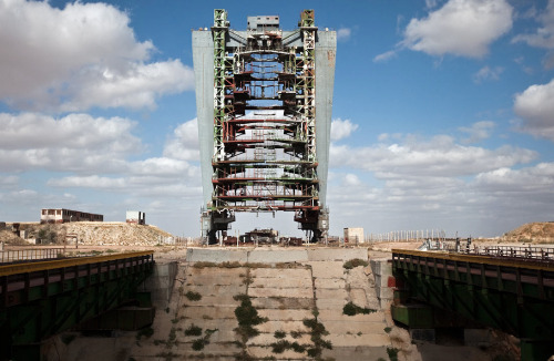 cespur:  What the Soviet Space Shuttle Program looks like today. Link.