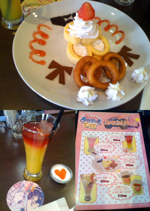 puddin-princess:  xmiox:  Special menu from the Good smile Cafe.   Maddiiii! Please, let's go here!  BUT……………………………… Plane tickets are lots of money and I just make a big purchase of a 3DS…. I'll find a nice cafe in London and bring you to it!!!!
