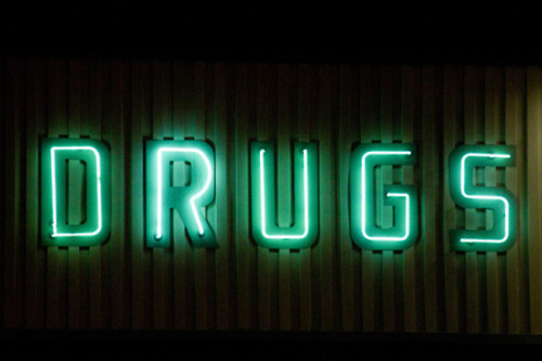 Terry Richardson's Diary - Neon Series, DRUGS
