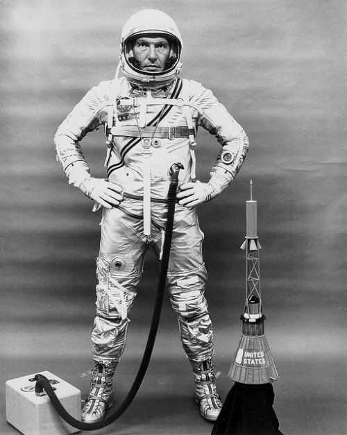 danielsalas:  Astronaut Walter M. Schirra (by NASA on The Commons)