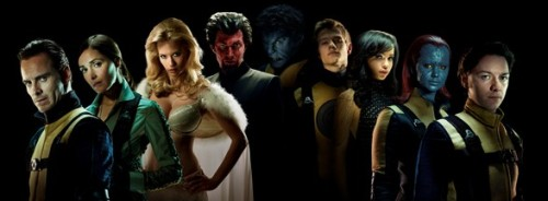 The first image from the new X-Men: First Class movie. Um…