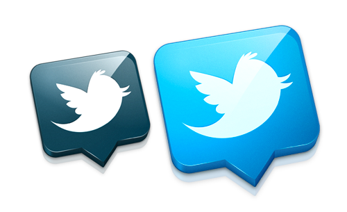 Twitter Replacement Icon diseñado por @bartelme