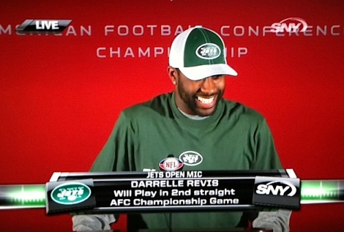 "sportsnetny:  Rex Ryan on who Revis will cover: ""Whoever we put him on is probably not a good thing for that person."" TheJetsStream"