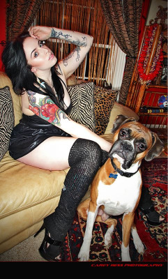 Me and Otis by Carey Hess  www.careyhess.com www.blackbird-artistry.com