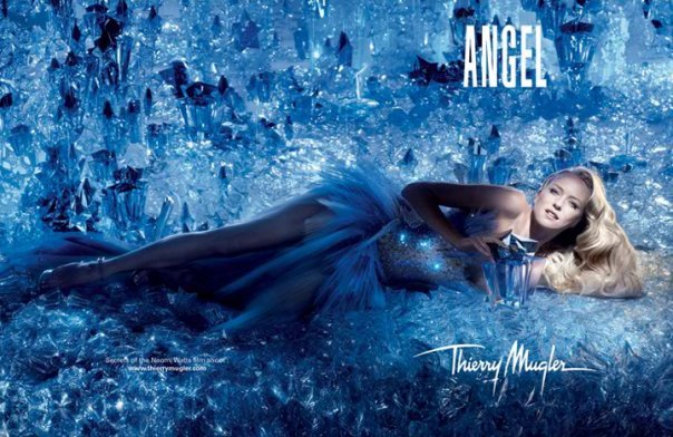 "Naomi Watts for the iconic ""Angel"" perfume…"