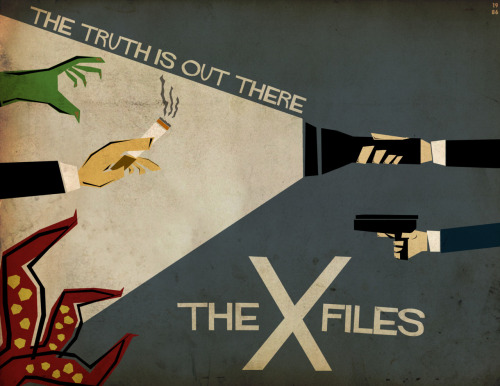 The X Files by Adam Benedict