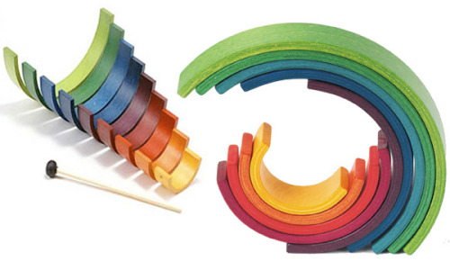 Naef Rainbow = Block + Instrument (NOTCOT)  When I have a child I'm def getting them this.