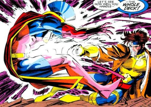 One of Gambit's most awesome moments.