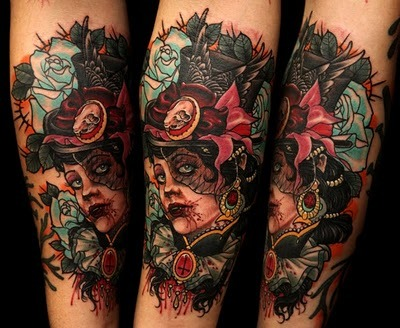 pinupdarlin:  uncle allan conspiracy inc. tattoo copenhagen, dk