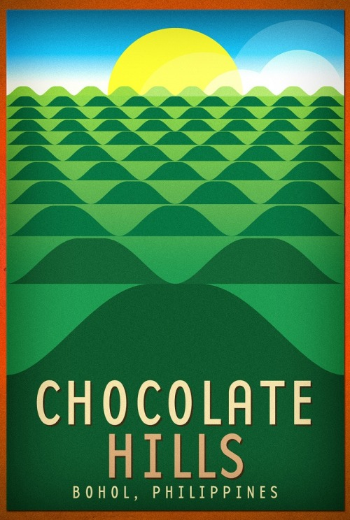 Chocolate Hills HelpDOT poster by Team Manila