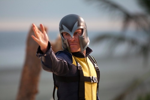 X-Men First Class: Michael Fassbender as Magneto Hot on the heels of yesterday's official but oddly fake-looking first promo image of the X-Men: First Class cast, a series of stills from the movie and a teaser poster have hit the net.