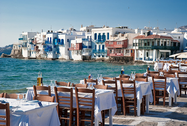 Mykonos, Greece (by Sergio J. Padrón A)