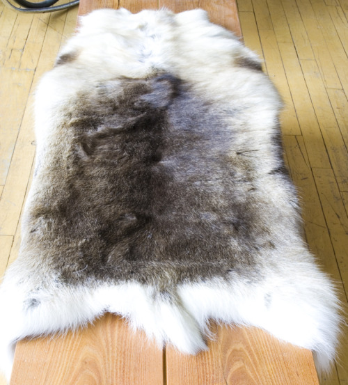 Norwegian Sami reindeer skins for the winter cabin or home! *Starting at $180.00