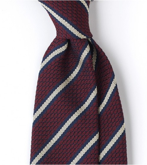 It's On Sale Striped Grenadine Tie I've written here before about the beautiful accessories from Drake's of London. This is one of the few situations where I actually think spending good money on a necktie might be worth your while. The Drake's winter sale has a number of beautiful, basic ties on sale that you can wear every week for many years. About $85 from about $135 at Drake's of London