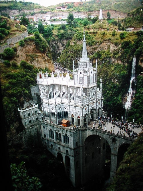 Submitted by damianchills Cathedral at Las Lajas, Colombia (1916-1949)