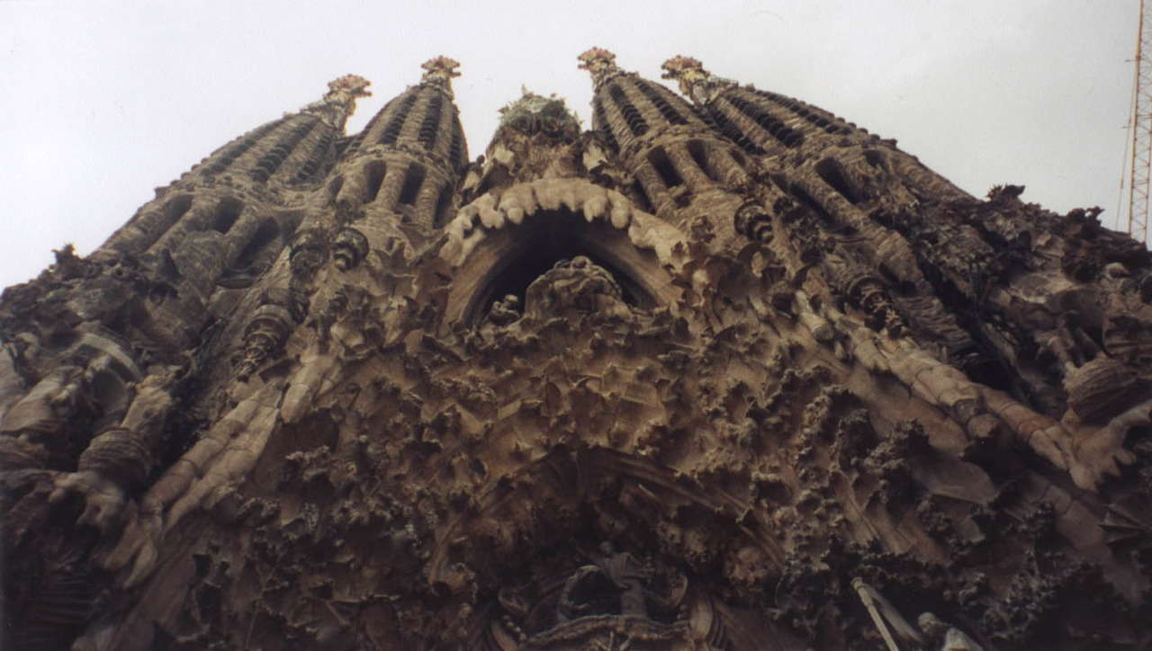 Submitted by damianchills La Sagrada Familia, Barcelona (1882-present)