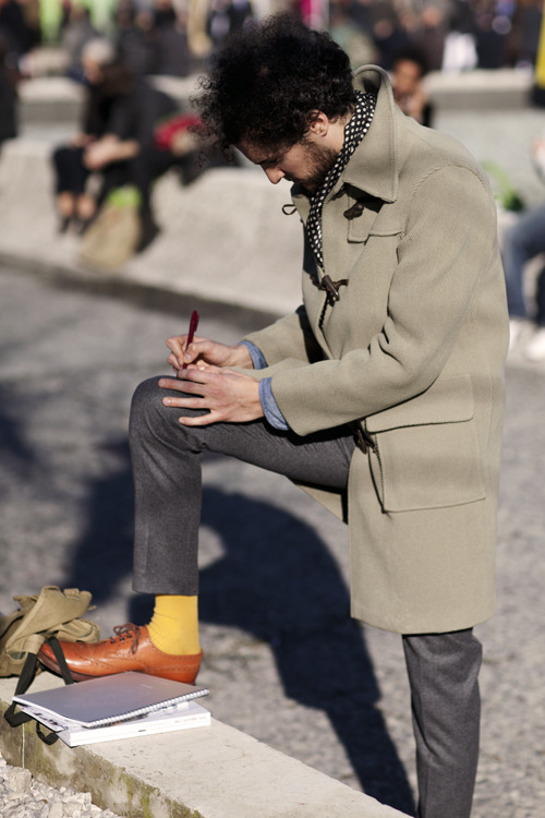 The Sartorialist: On the Street… The Mix, Florence