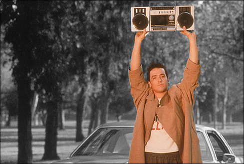 Movie wasn't that great, but this scene was epic. Any simp knows Lloyd Dobler did his thing. Hit the picture, man. Play this song for someone you love. RR