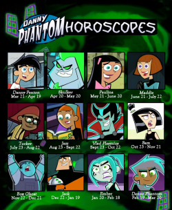 horoscopes danny Sam maddie horoscope jazz danny phantom jack tucker paulina ember vlad skulker Box Ghost
