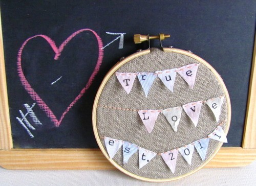 True Love Recycled Announcement Banner 3 Rows by kappaa on Etsy