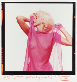 Marilyn Monroe photographed by Bert Stern