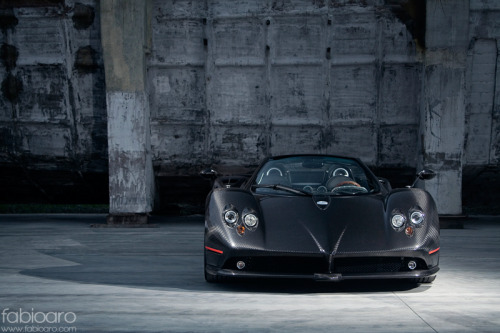 fuckyeahcargasm:  Sunglasses at night Featuring: Pagani Zonda