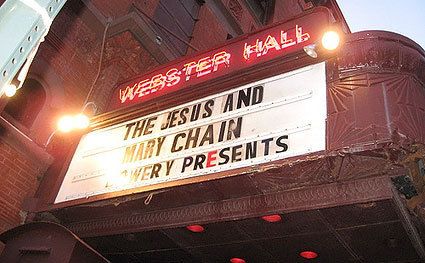 The Jesus and Mary Chain / Webster Hall, The Bowery / 2007