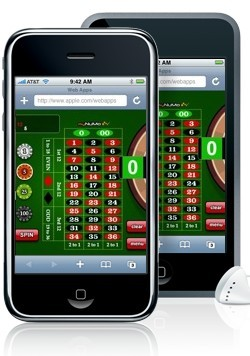 Try the roulette application on your iPhone!