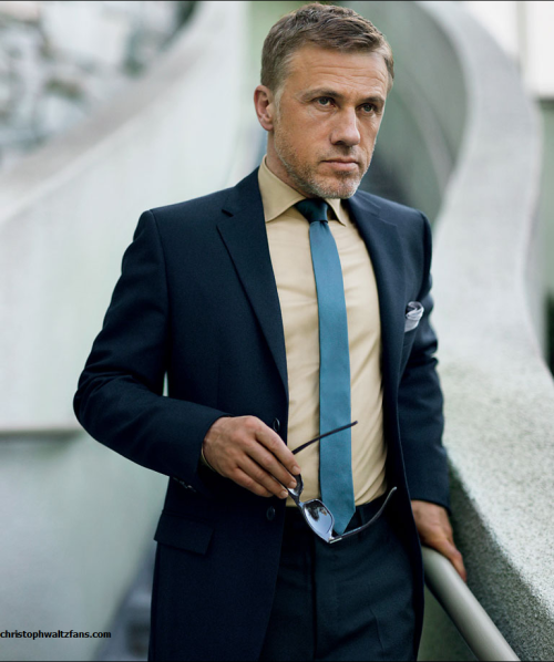 iamsangsouvanh:  Christoph Waltz for GQ.