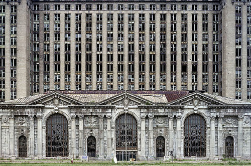 Detroit's Beautiful, Horrible Decline Two French photographers immortalize the remains of the motor city on filmPhotographs by Yves Marchand and Romain Meffre