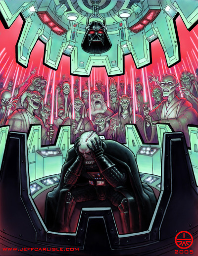 svalts:  Vader's Dream // by Jeff Carlisle  Gee, I never thought of it that way.