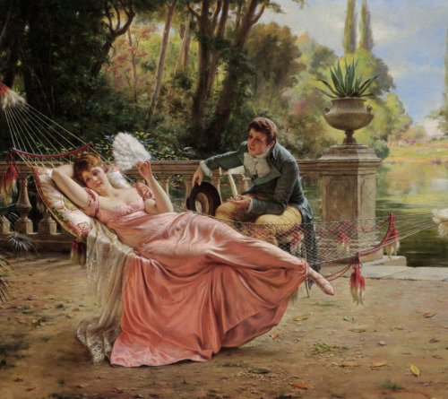 aquietsunday:  The Proposal by Charles Joseph Frederick Soulacroix
