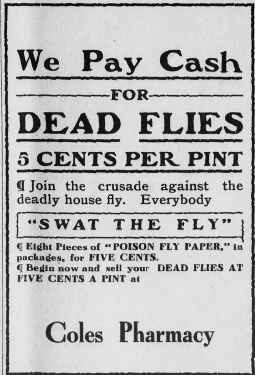 ~ Mansfield Advertiser, Mansfield, Penn., June 24, 1914 via State Library of Pennsylvania