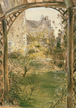 rosebiar:  Kelmscott Manor by May Morris.