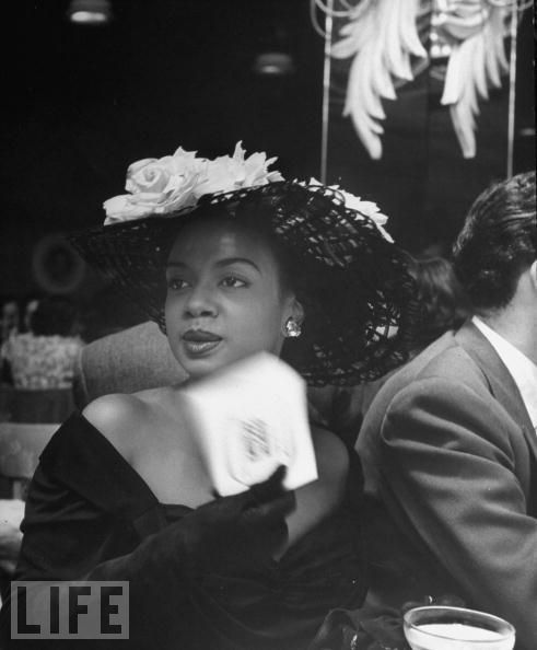 Hazel Scott circa 1949. Photo via LIFE magazine.