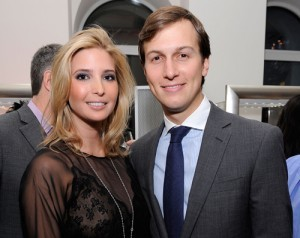 "Ivanka Trump Announces She's Pregnant via Twitter The Donald's daughter and right-hand woman is expecting. And hubby Jared Kusher, son of real-estate developer Charles Kushner and owner of The New York Observer, ""couldn't be more excited,"" Ivanka tweeted."