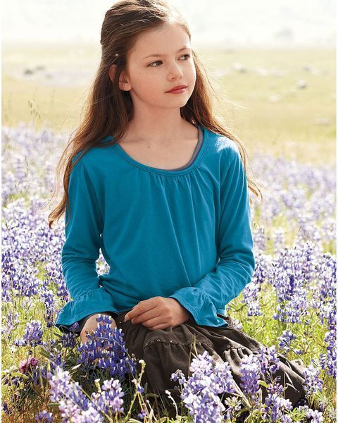 First Look: Mackenzi Foy as Renesmee From 'The Twilight Saga: Breaking Dawn Part I' | /Film Also here's what the logo looks like for the movie…