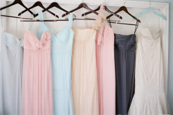 Oh the pretty dresses!