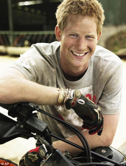 Prince Harry named the world's coolest person aged under 38 by GQ magazine. Army buddies called him the ginger bullet magnet and his girlfriend calls him the big ginger. -abcnews