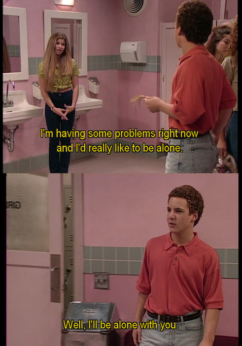 I love Boy Meets World <3