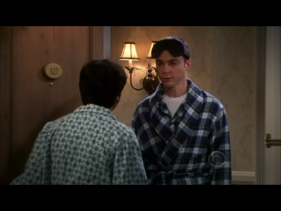 big-bang-theory:  emmawesome94:  Sheldon: I need to sleep here tonight. Raj: Why? Sheldon: Howard's a complete and total ass, Bernadette is in Penny's bed, Amy bites and Penny may or may not have coitus with Leonard. *Pause* Raj: OK, come on in.   I love how they didn't question any of it