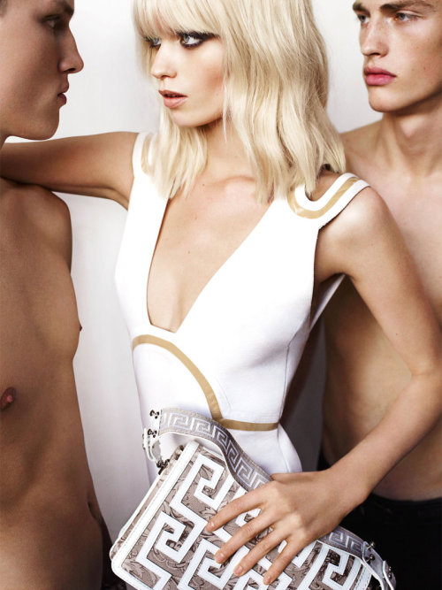 Abbey Lee Kershaw for Versace by Mario Testino.