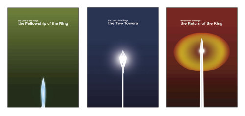 Lord of the Rings trilogy by Jeremy Henrickson