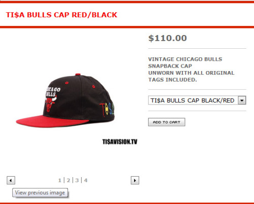 A hundred and ten dollars for a bulls snapback???? That shit better have the sweat off micheal jordans forehead.. I can't believe these kids buy this rubbish. *smh* -Rhay.
