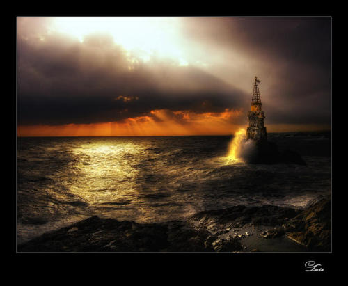 Ahtopol Lighthouse by Albena Markova!