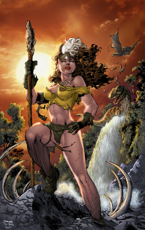 rmonz:  Rogue in Savage Land by Jim Lee