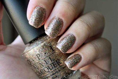 OPI - Sparkle-icious (from the Burlesque collection)